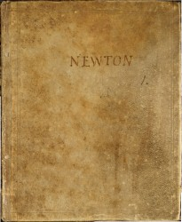 Memoirs of Sir Isaac Newton's life, by William Stukeley Spread 0 cover